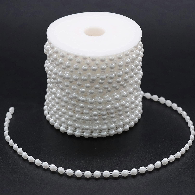 Jerler Pearl San Jose Mall Trim Garland Stran Bead Chain trust Artificial