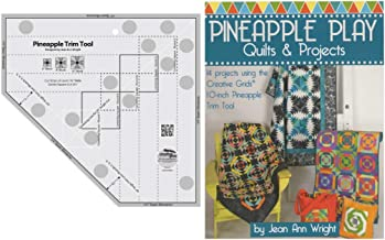 Creative Grids Bundle - Pineapple Trim Tool (CGRJAW3) with 64 Page Book