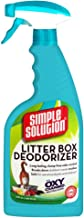 Simple Solution Cat Litter Box Deodorizer Spray Bottles