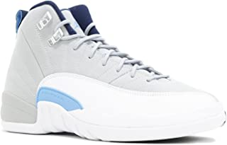 e014c18dca04 NIKE Air Jordan 12 XII Retro (GS) University Blue - Wolf Grey - White
