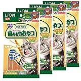 ライオン (LION) ペットキッス (PETKISS) 猫用おやつ ネコちゃんの歯みがきおやつ スティック チキン味 4個パック (まとめ買い)