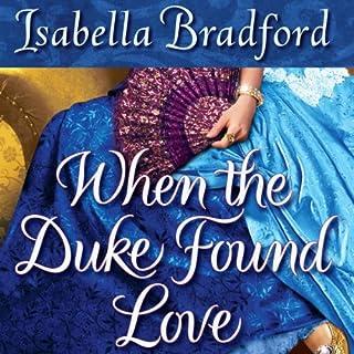 When the Duke Found Love audiobook cover art