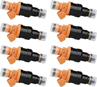Fuel Injector Set of 8 - Replaces part 280150943, 0280150939, 0280150909 - Fits Ford E250, F150, F250, F350, E350, Mustang, Lincoln and Mercury 4.6L, 5.0L, 5.4L, 5.8L Vehicles - Year 1992-2004