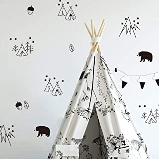 Seyouag Wall Stickers for Kids Rooms Baby Bedroom DIY...