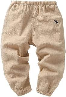 Etecredpow Childrens Cotton Lantern Pants Cozy Corduroy Jogging Pants