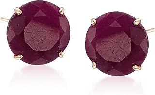 real ruby earrings