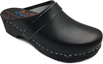 AM-Toffeln 100 Clogs in Black