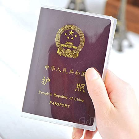SimpleLife Transparent Passport Protect Cover Accesorio de Viaje, Pasaporte Cover Holder Estuche Organizador