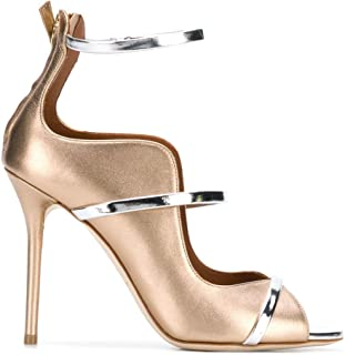 MALONE SOULIERS Luxury Fashion Womens MIKA1002GOLD Gold Heels | Spring Summer 19