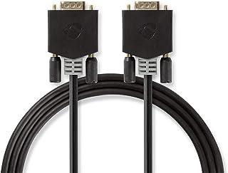 Nedis VGA Male VGA Cable - VGA M acho 2.0 m Anthracite