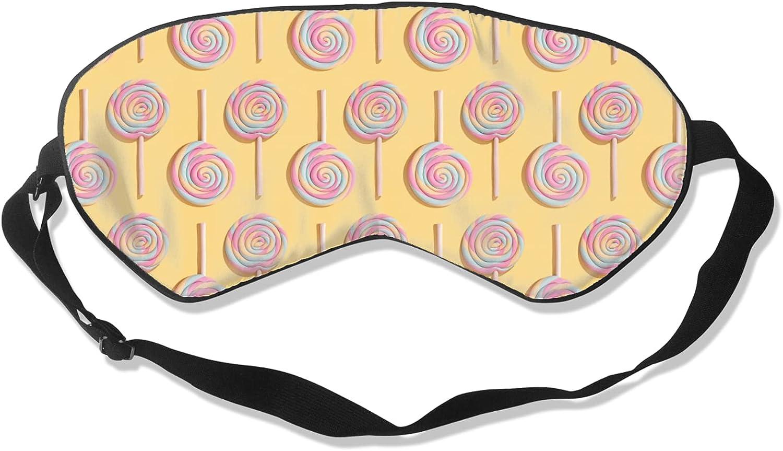 Rainbow Lollipop Sleep Mask A online shop surprise price is realized Soft Blindfold Eye Blackout
