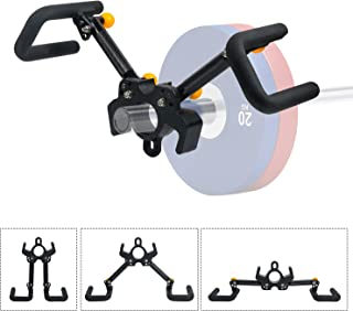 TRENDBOX T Bar Row Attachment Landmine Attachments Multi-Grip Weightlifting landmine Handle for Muscle Training and Exercise
