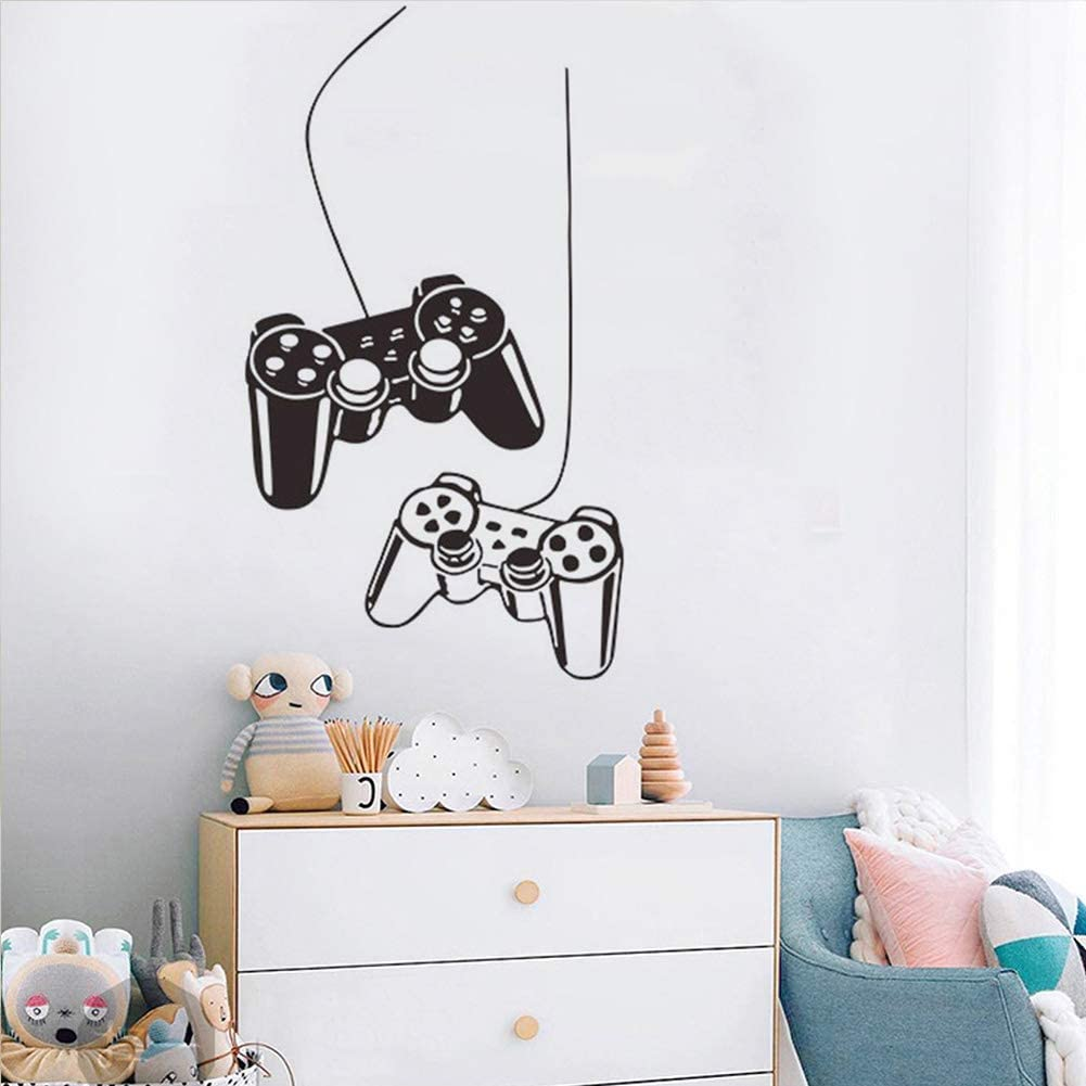 Removable Creative Game Controllers Vinyl Ar Art Fort Worth Mall NEW before selling ☆ Mural
