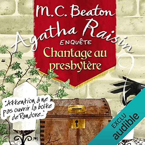 Chantage au presbytère audiobook cover art
