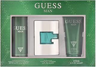 Guess 3 Piece Gift Set with 2.5 Oz by Guess NEW For Men