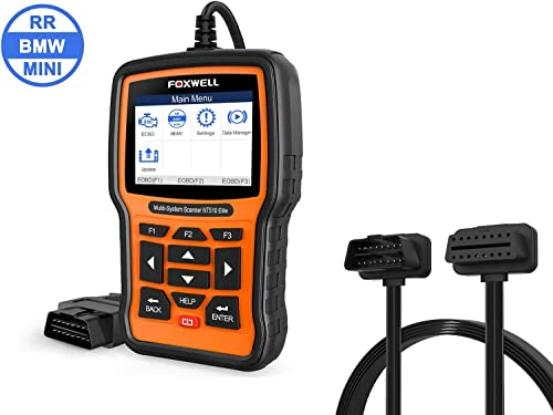 popular FOXWELL sale NT510 Elite with BMW Software and new arrival FOXWELL OBD2 Male to Female Extension Cable sale
