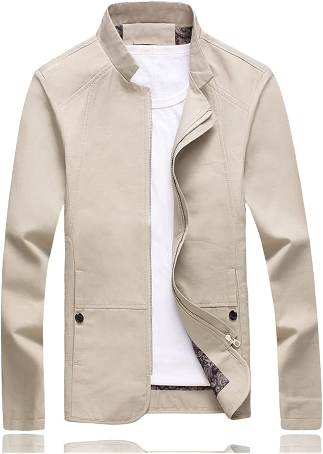 Jacket New Men Excellent Fashion NEW before selling ☆ Slim Casual Sportswear Mens