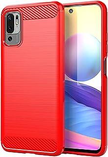جراب FTRONGRT لهاتف Xiaomi Redmi Note 10 5G، مضاد للانزلاق وفائق النحافة لامتصاص الصدمات ومضاد للخدوش، غطاء لجهاز Xiaomi R...