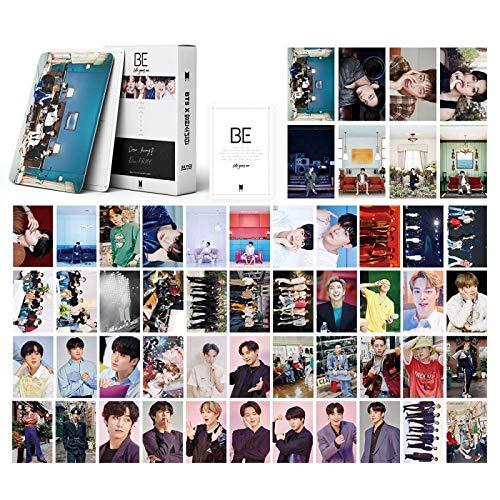 AMZYY KPOP BTS Lomo Cards 54Pcs Bāngtan Boys Photocards con Caja Postales para...