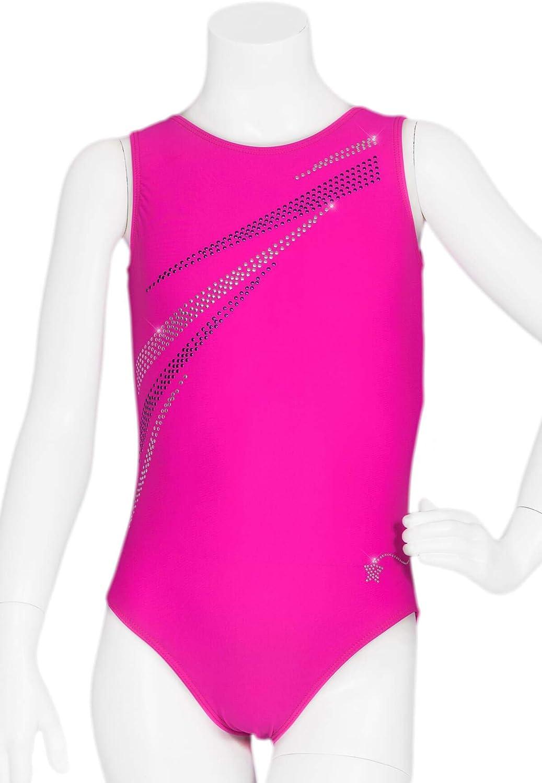 Destira Girl's Pink Leotard Pizazz Cheap sale Max 56% OFF Gymnastics