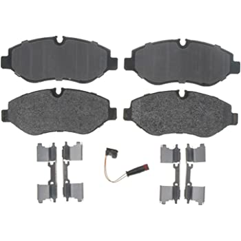 ACDelco 17D1316MH Professional Semi-Metallic Front Disc Brake Pad Set