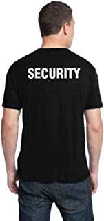 big black security t shirts