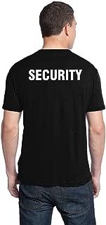 Best big black security t shirts Reviews