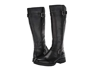 Born Pointe (Black Full Grain Leather) Women