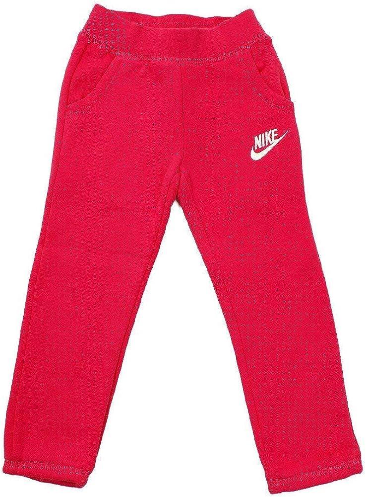 Nike Little Girl's Fleece Pants Rush Pink