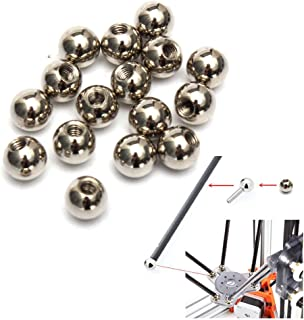 16PCS Φ10 10mm M4 Threaded Steel Ball Rod End For Kossel 3D Printer Magnetic Joint