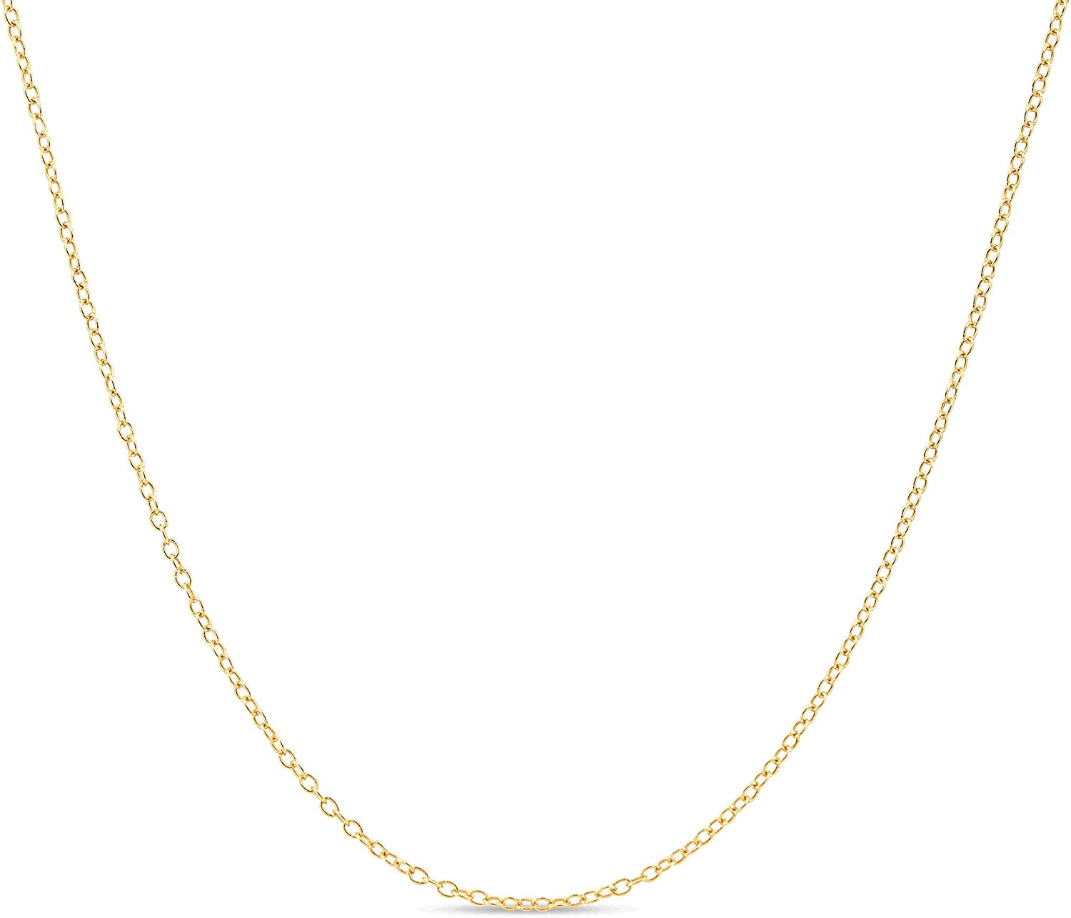 KEZEF Creations Sterling Silver with Gold Overlay 1.3mm - Cable
