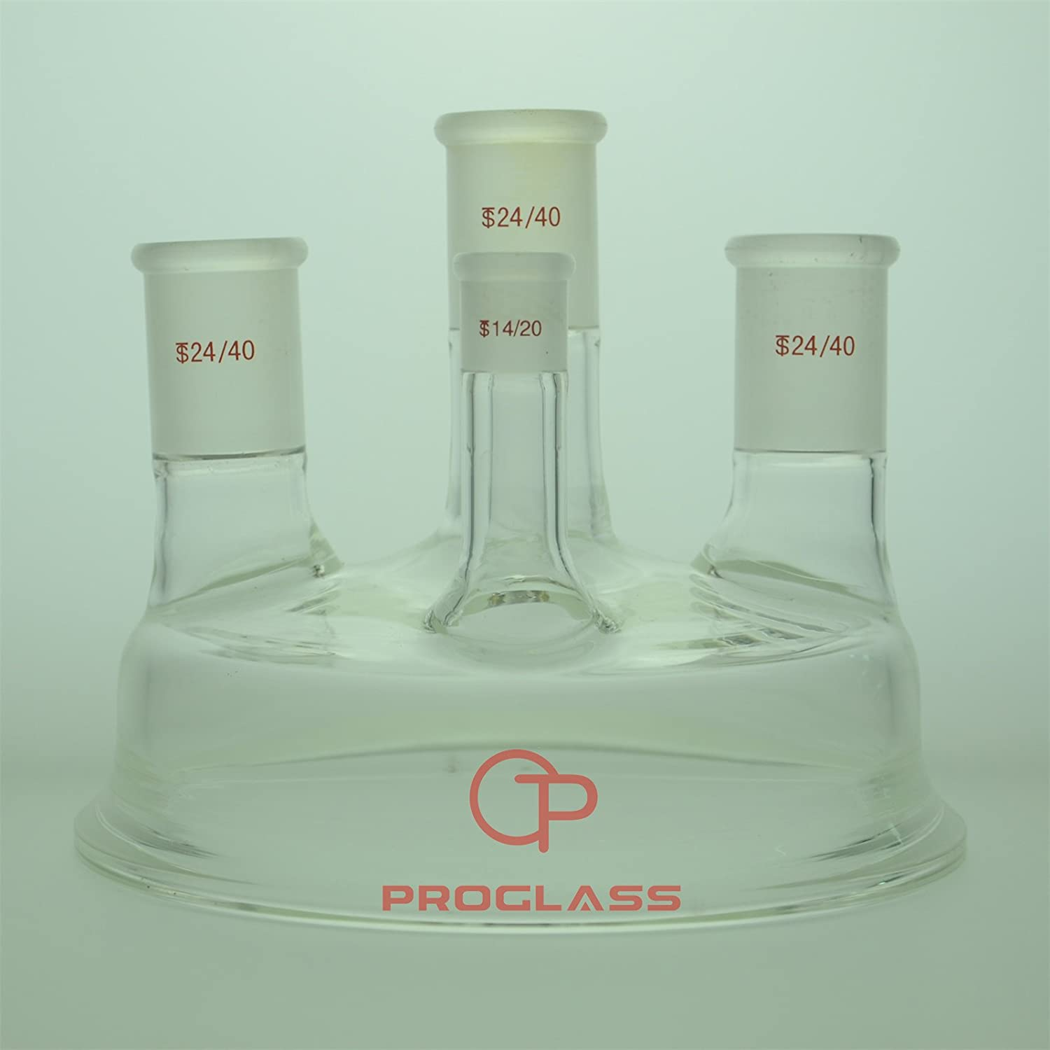 Proglass Glass Over item handling Four Necks Cap fit The Separate 3000mL Free shipping New Flask with