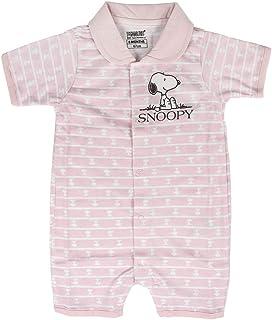 Artesania Cerda Baby-Mädchen Pelele Single Jersey Snoopy Strampler, Pink Rosa C07, One Size Herstellergröße: 3M