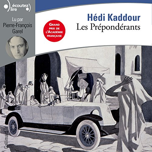 Les Prépondérants audiobook cover art