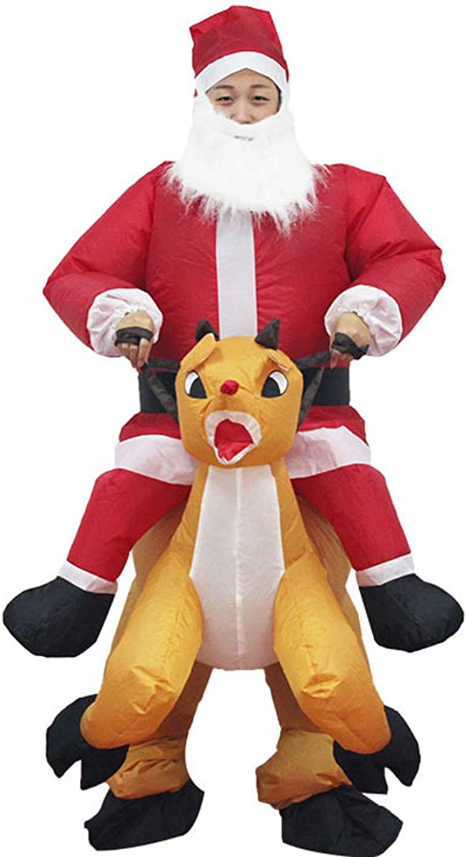 Max 55% OFF Bemycutie Christmas Funny Sales of SALE items from new works Clothing Claus Perfor Santa Inflatable