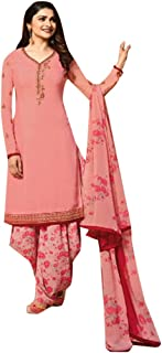 ETHNIC EMPORIUM womens Bollywood Prachi Casual Party Wear Pants Style Pajama Straight Punjabi Salwar Kameez Churidar Patia...
