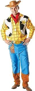 Rubies's–Disfraz Oficial de Woody de Toy Story, Disfraz para Adultos–tamaño estándar