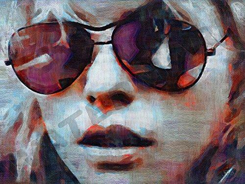 Posters-Galore Blondie Debbie Harry Ghosts of Downtown Art Print Poster