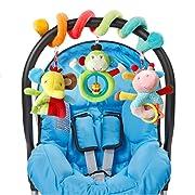 Baby Toys Bright Starts Sit /& See Floor Mirror Safari Easy Storage Folds Flat Ne