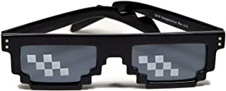 Deal With It Thug Life Sunglasses with Polygonal 8 Bits Style Pixel and Nose Pad Limited Edition