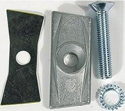 HEBIE Contrastplaat voor tweepootstandaard met schroef M10 x 55 mm