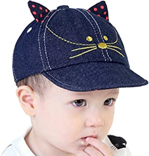 Jonerytime❤️Toddler Baby Kids Girls Boys Candy Solid Ribbons Breathable Hat Bucket Cap