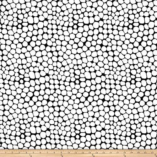 FreeSpirit Quilt Fabrics Quilt Fabric Kaffe Fassett Collective Jumble White Quilt Fabric by The yd
