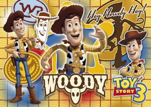 Clementoni - Puzzle con diseño de Woody de Toy Story 3, 104 Piezas (27767.4)
