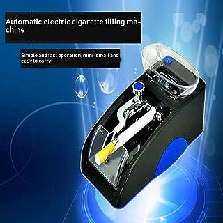 SONGYANG Automatic Cigarette Machine Electric Cigarette Maker Creative Manual Smoker Small Household Portable High Power Self-Cigarette for Men,Blue