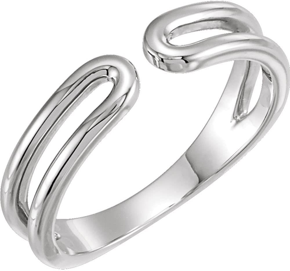 Under blast sales Max 49% OFF Rings 14K White Space Ring Negative