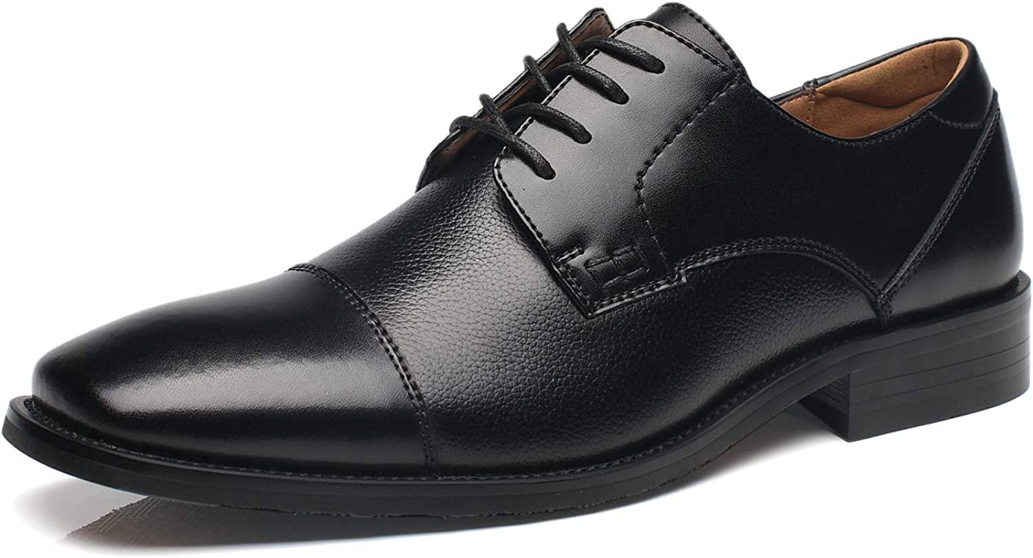 NXT NEW YORK Mens Dress shoes Leather Oxford shoes Lace up Formal Business