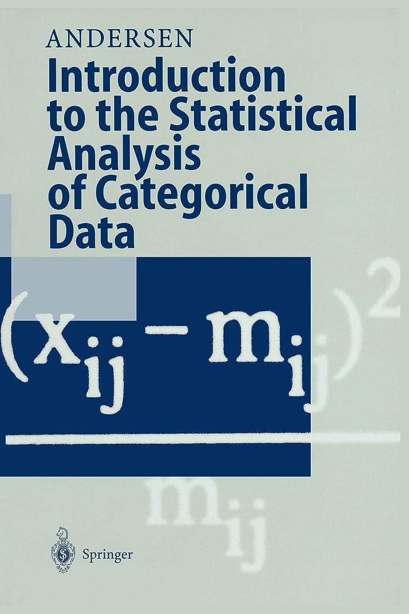 絞る墓地ラウンジIntroduction to the Statistical Analysis of Categorical Data