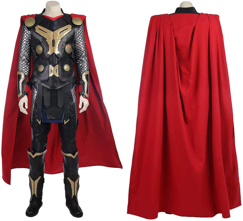 BLL Thor  die dunkle Welt Thor Odinson Cosplay Kostüm, Halloween Freizeit cool Mann Outfits damen-XS