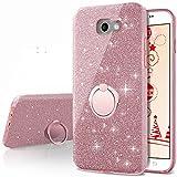 Galaxy A7 2017 Case,Silverback Girls Bling Glitter Sparkle Cute...